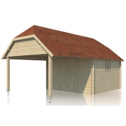 Blokhut Cottage Oxford XL 355cm x 650cm