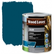 Wood lover Color Tuinhuis 2,5 liter NACHTBLAUW