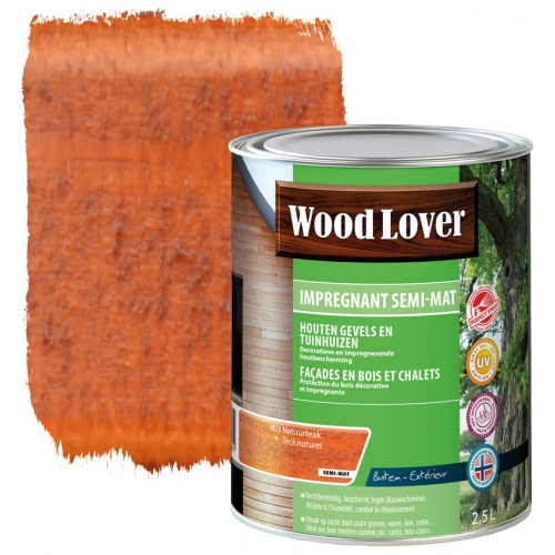 Wood lover Impregnant 2,5 liter NATUURTEAK